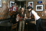 ellen jaskol, lead singer of ellen and the jelly beans, plays at the Rock Bar.   Her band will...
