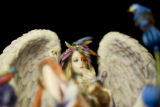 Polyresin hand painted Fairy Statues are sold for $13-90 at Herbs & Arts on July 31, 2008 in...