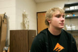 0170 Jason Bock, 18, a senior at Chtafield H.S. talsk about the ATV acedent that took his friends...
