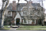 Homes around Denver to show different styles of architecture.  This is a tudor house, at 128...