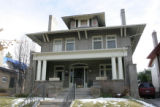 Homes around Denver to show different styles of architecture.  This is a Denver Square house, at...