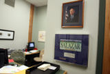 The reception area at  the office of Senator Ken Salazar (cq) at 2300 15th Street in Denver...