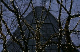 (0308) Christmas lights in downtown Denver., Colo., on Thursday, Dec. 18, 2008. (CHRIS...