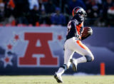 (0459) Eddie Royal ona 71-yard run  in the first quarter of the Denver Broncos against the Buffalo...
