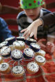 Party ideas for New Year's Eve with the kids.  Jennifer Miller comes up with the ideas.  Cupcakes...