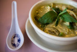 A bowl of Green Curry soup for $7.95 is a popular special at Lao Wang Noodle House 945 S. Federal...