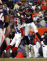 DM4303   Buffalo Bills cornerback Terrence McGee #24 tips the ball out of the reach of Denver...