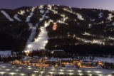 Night skiing in Keystone.  Photo by Bob Winsett/Keystone Resorts.