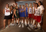 2005 All-Colorado girls lacrosse teams. (left to right) Deslie Hamersky (cq),17, of Colorado...