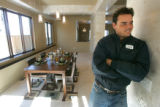 0105 Nick Mystrom stands in the dining room of a home at 4546 W 36th Ave. that is going up for...