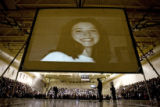 DM3278  A photograph of Rachel Scott, the first student killed at Columbine High School, is...