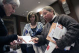 (0148) Aa free job fair put on by the Colorado Women' Chamber of Commerce to showcase career...