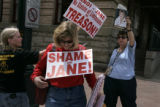 In downtown Denver, on Monday May 16, 2005 the Tattered Cover hosted a book signing for Jane...