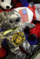 SR(0268) A camouflage teddy bear on display at the Arvada Army Navy Surplus store Wednesday, Jan....
