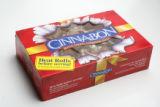 Packaging for cinnamon rolls.  These photos are meant to run small.   (ELLEN JASKOL/ROCKY MOUNTAIN...
