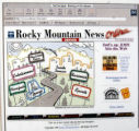 Rocky Mountain News 1930's front pages.  (JAVIER MANZANO / ROCKY MOUNTAIN NEWS)