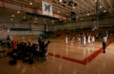 0522  Manual High School plays against the Kent Denver in a gym that was built at the school after...