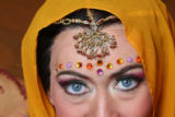 Heidi Stober plays Leila in the opera, The Pearl Fishers, in costumes designed by Zandra Rhodes,...