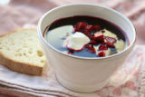 Root vegetables.  Borscht, a soup made with beets. (ELLEN JASKOL/ROCKY MOUNTAIN NEWS)