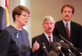 RMN107--4/22/99:  Attorney General Janet Reno talks about a town meeting she had with victims...