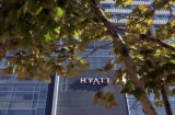 The new convention center Hyatt Hotel, 14th and California Sts., Denver, Colo., Wednesday October...