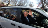 Presidential candidate Ron Paul visited Giuseppie's Depot Restaurant Friday afternoon. photo by...