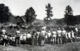 "Sunday Show at The Lazy VV Ranch. Scanned from the book ""The Western Cowboy and Arabians In..."