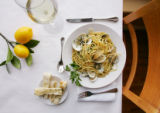 Luingini Marechiaro, at the Monaco Trattoria in Loveland on February 1, 2008, for Food story.  ...