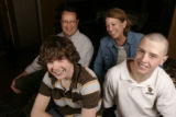 Family portrait of Alice Madden-D-Boulder family at her home in Boulder January 22, 2008.  Pete...