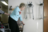For the Ref C and D Project:  Shot on 10/5/2005 - At Holly Heights Nursing Home in Denver, 65% of...