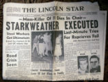 Del Harding's copy of the Lincoln Star from Thursday June 25, 1959 from the final chapter of the...