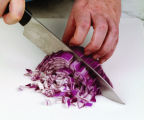 "Chopping an onion, from the book ""How to Break an Egg"" (The Taunton Press, 2005). Photo..."