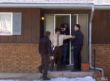 Local and state investigators poured over evidence at a home on Galena Court in Colorado Springs...