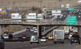 I-70 traffic heads north  towards the 84th Avenue bridge Tuesday january 29,2008.  TRIP, a...