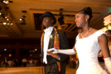 (Denver, Colo., Dec. 16, 2007) Joshua Russell and Morgan Burgess.  The 2007 Beautillion, presented...