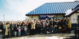 A group of people that were sponsored by Harvey Kiser at IHOP, where he paid for breakfast and...