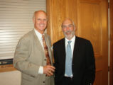 Sam F, Jerry B - Colorado UpLIFT Board members Sam Freedman (retired Oppenheimer Funds exec) and...