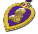 This award, the modern form of the original Purple Heart established by General George Washington...