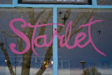 The sign on the window of Starlet is just as decorative as the unique items inside the store on...