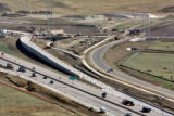 A new interchange is being constructed from C-470 to The  Retreat at Solterra in Lakewood on...