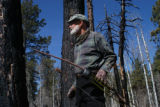 Ed Dentry/Rocky Mountain News Photo for Dentry's May 9, 2008, column. Author and backcountry...