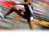 Cliff Boatwright of Gateway clears a hurdle in the Boys' 5A 300 Meter Hurdles at the 4A/5A...
