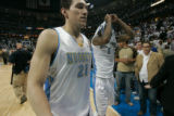 BG0715 Denver Nuggets #  Los Angeles Lakers # in the second half of game four of the first-round...