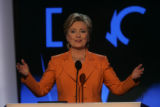 JPMX2188  Remarks and activity from the podium of the Democratic National Convention in Denver on...