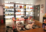 Jennifer Robert's store, Composition, at Belmar.  She sets aside a portion of the story for a...