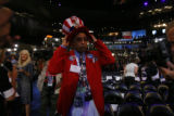 Rodney McFarland Sr, a delegate from Louisiana, on Tuesday, August 26, 2008, at the Pepsi Center...