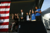 (PG0111) Michelle Obama launches a delegate service day at Curtis Park on Wednesday, August 27,...