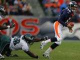Denver Broncos Philadelphia Eagles Invesco Field at Mile High Sunday October 30, 2005. (BARRY...