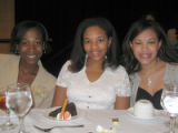 Tribute to Black Youth Luncheon for The Links Inc. Saturday, October 29, 2005 - (L-R) Honorees:...