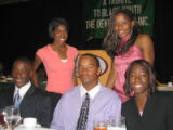 Tribute to Black Youth Luncheon for The Links Inc. Saturday, October 29, 2005 - Front Left to...